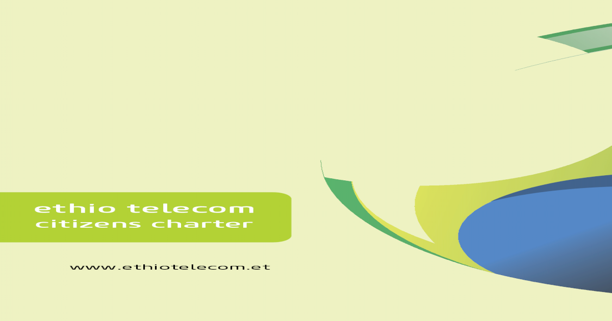ethio telecom - teleom itiens arter etio teleom itiens arte r 2
