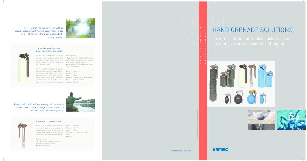 hand grenade SOLUTIOnS