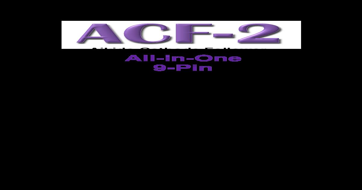 Aikido Cathode Follower All-in-One 9- 9-Pin pdf 2 Aikido Cathode