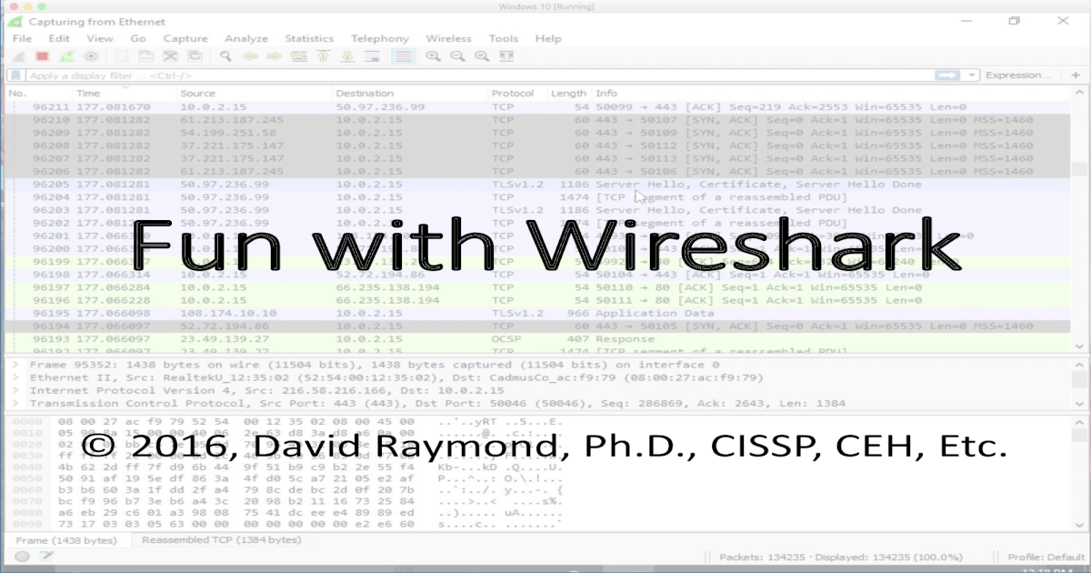 Fun with Wireshark - [-a frame:comment ]     Compiled into