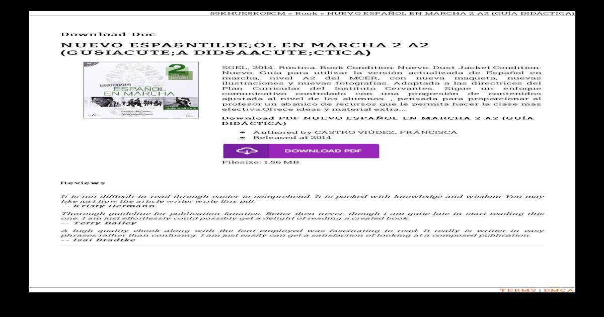 Marcha pdf nuevo espanol en 1