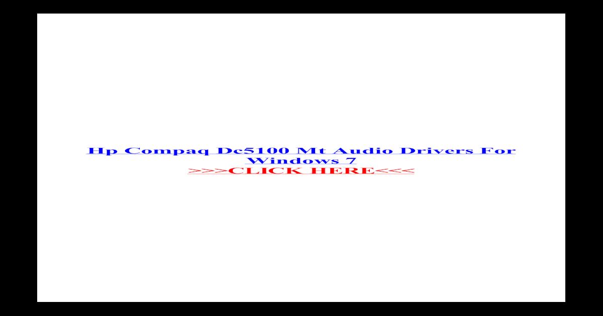 POUR HP NC6400 COMPAQ TÉLÉCHARGER SOUNDMAX