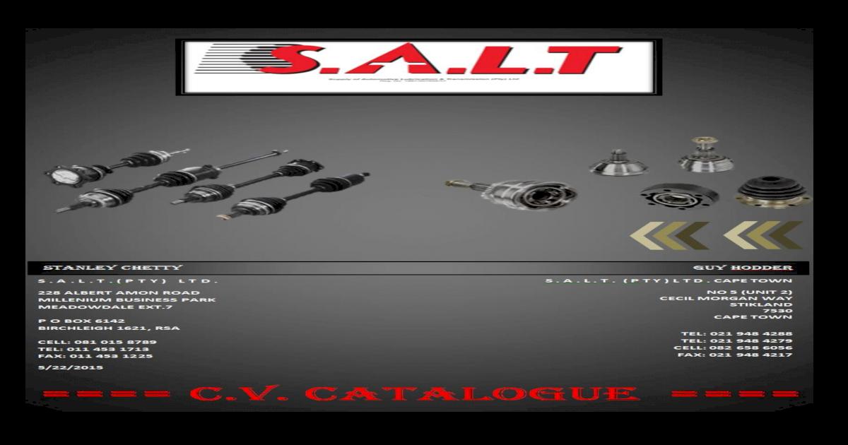 AUDI A4 MK1 1.8,1.8TURBO INNER CV JOINT 95/>01 NEW