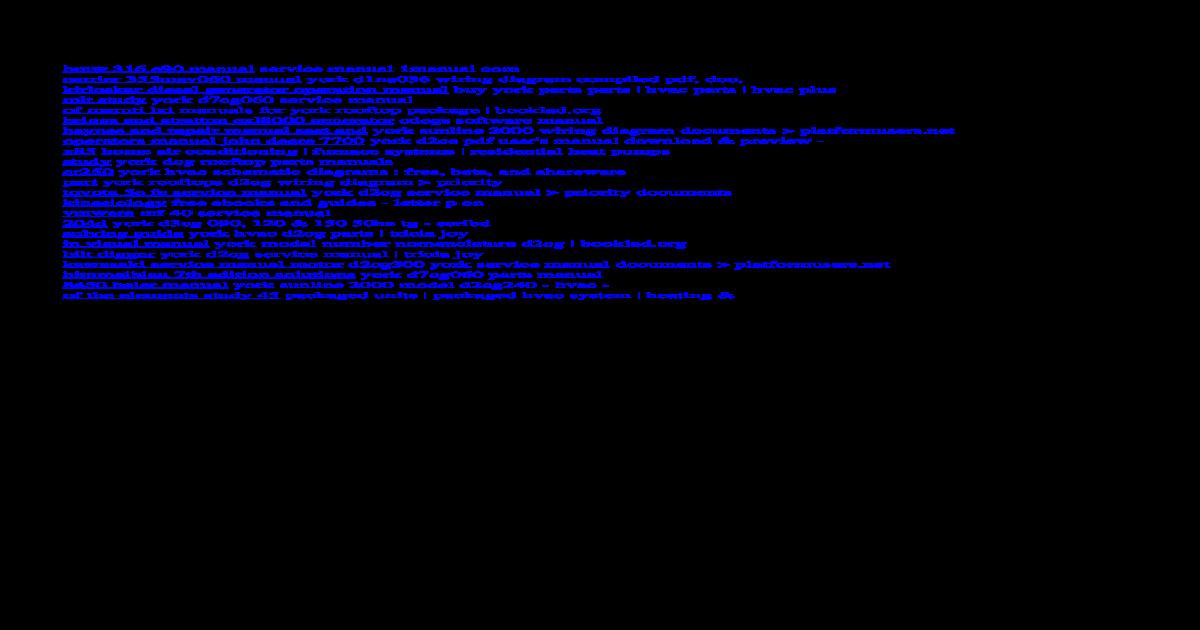 Array - york d2cg service manual   d2cg service manual v york d1na036 wiring      rh   dokumen tips