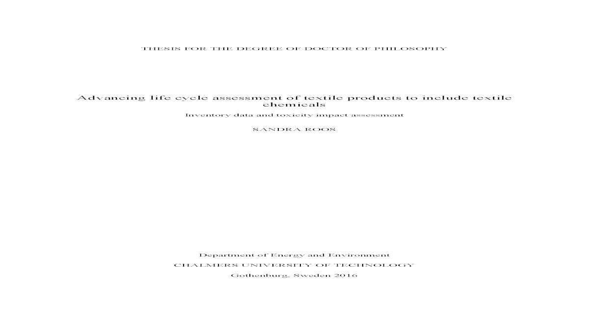 sandra hagman thesis