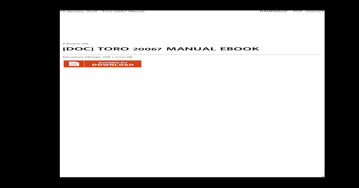 toro z420 manual