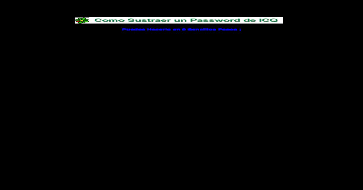 apoderate de um ICQ