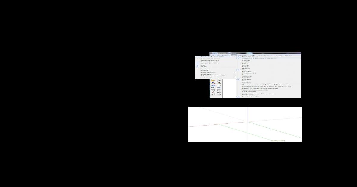 hacer paralelas linear unit sketchup