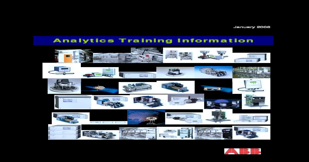 ABB University ytics USA Training Catalog 2008 on