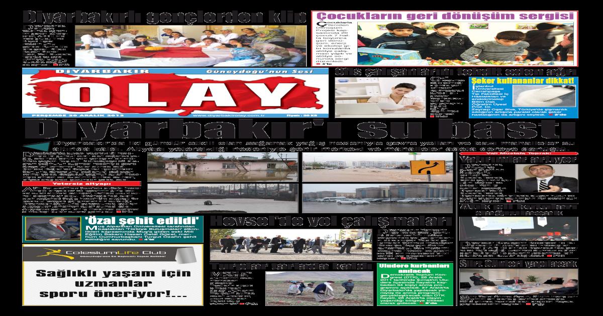 20 12 2012 Gazete Sayfalar