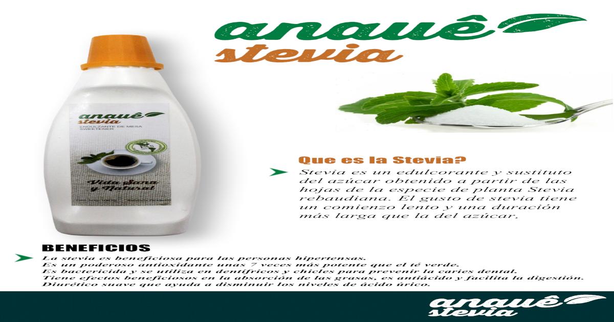 Anaue Stevia
