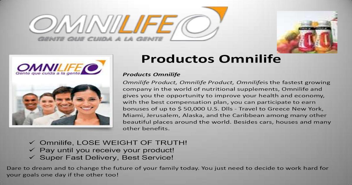 Omnilife para perder peso