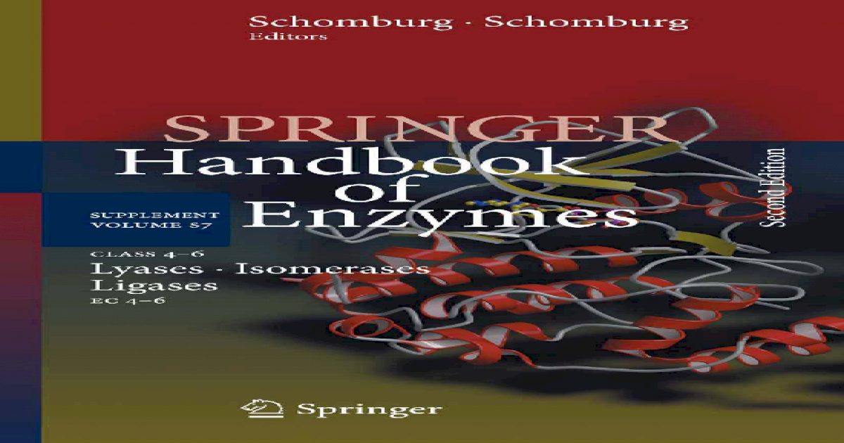 The Enzyme List Class 1 — Oxidoreductases