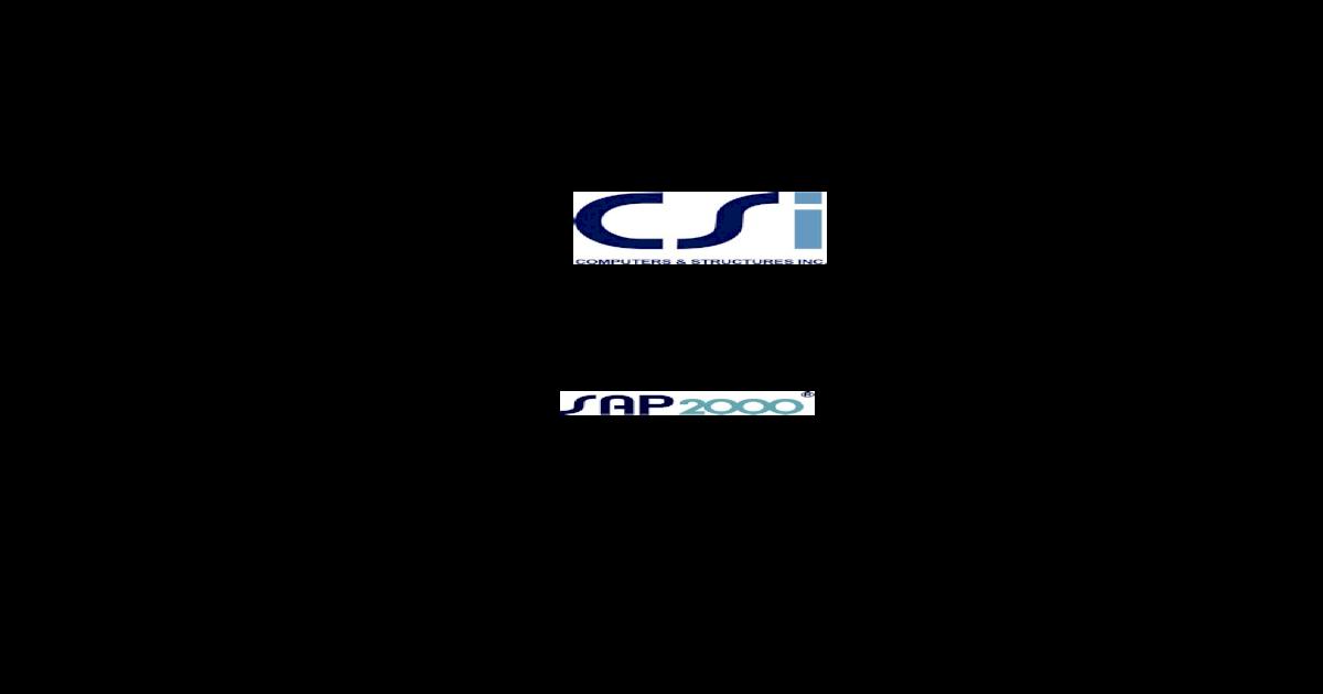 EC3 MANUAL FOR SAP2000