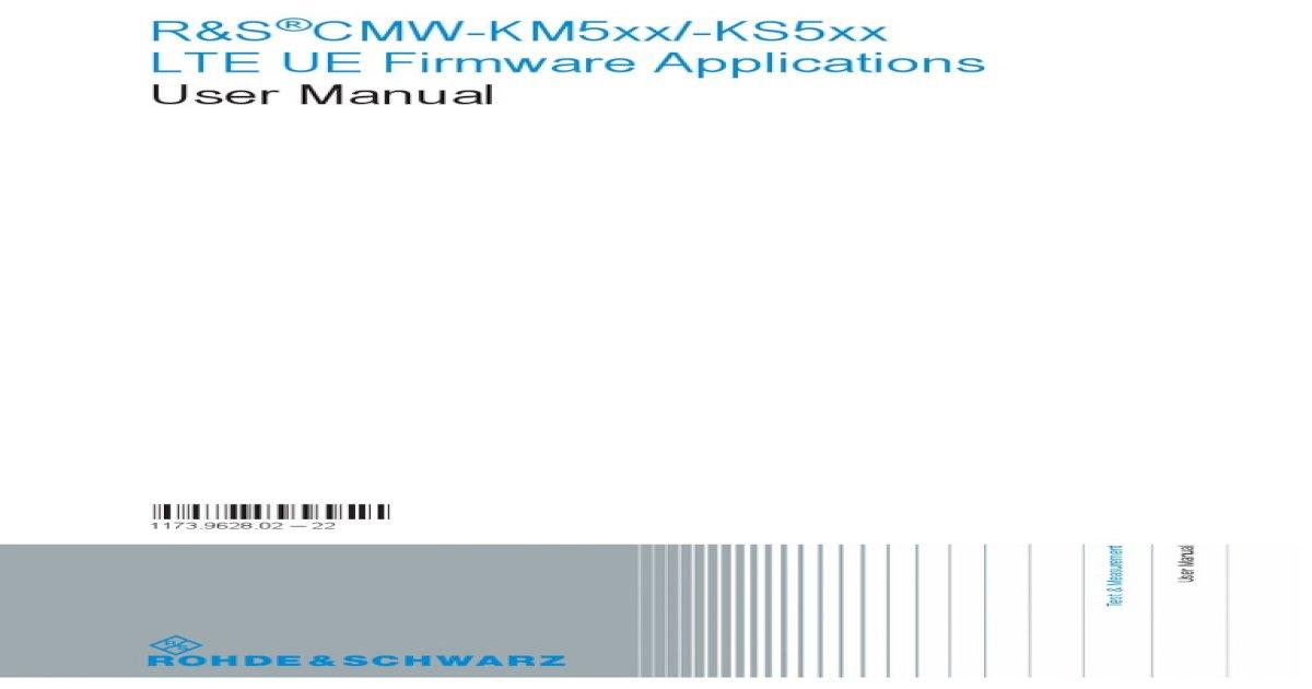CMW_LTE_UE_UserManual_V3-5-30_en_22