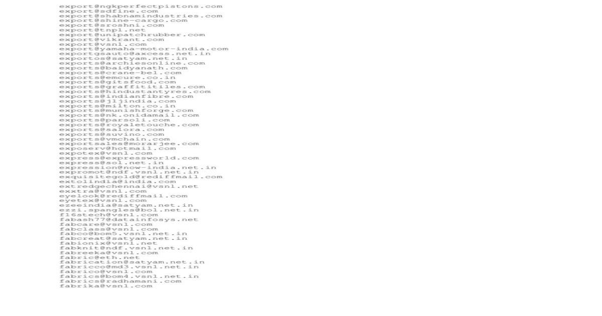 Exclusion List txt