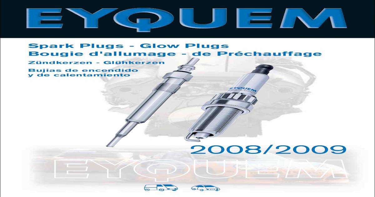 KIT 4 CANDELE CHAMPION PEUGEOT 1007 /'05-/> 1.6 16V 80 KW 109 CV