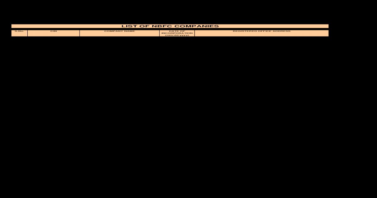 57 Nbfc Companies