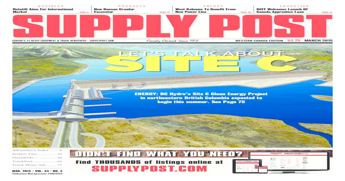 Supply Post West Mar 2015