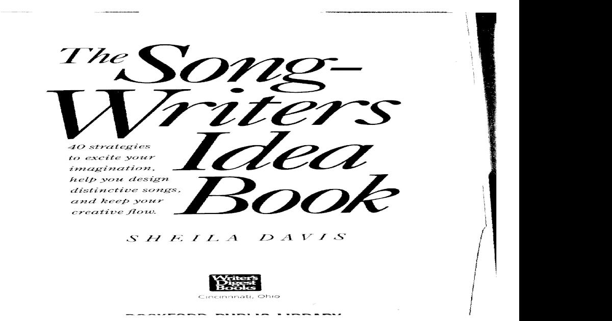 The Songwriters Idea Bookpdf