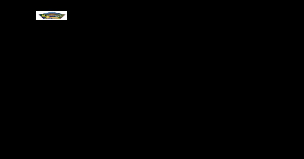 Format Nota Dinas