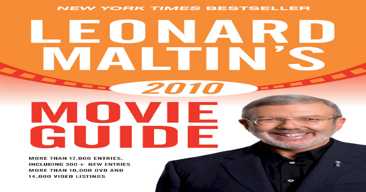 Leonard Maltins 2010 Movie Guide Leonard Maltins Movie Guide