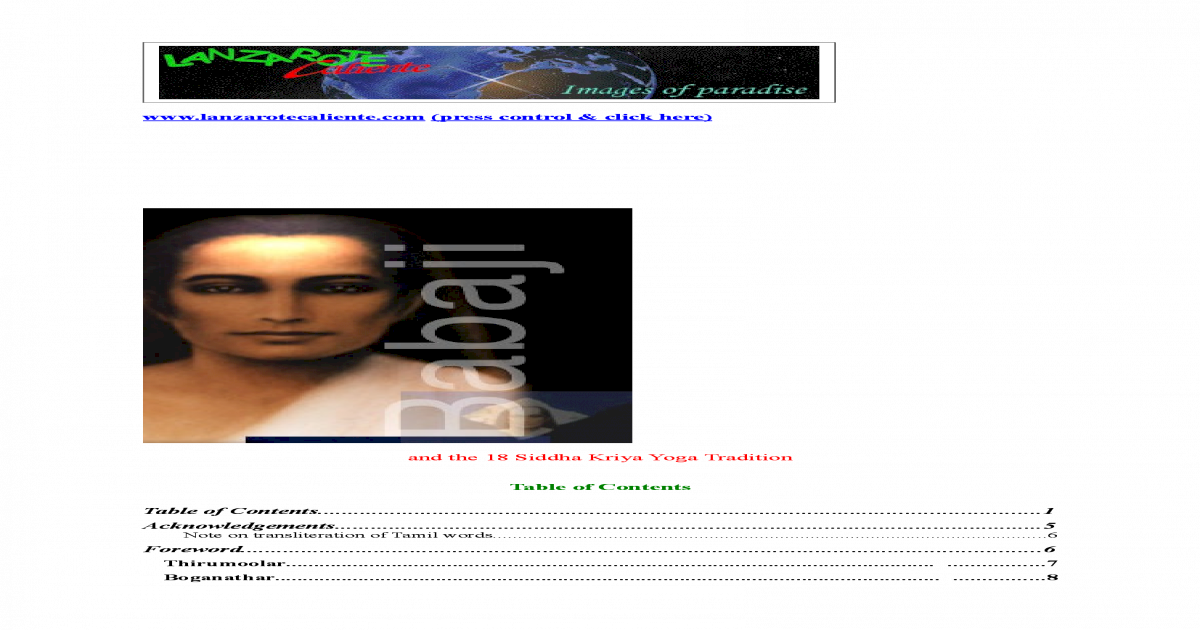 BABAJI_AND_THE_18_SIDDHA_KRIYA_YOGA_TRADITION pdf