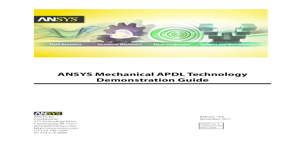 ANSYS Mechanical APDL 2 pdf