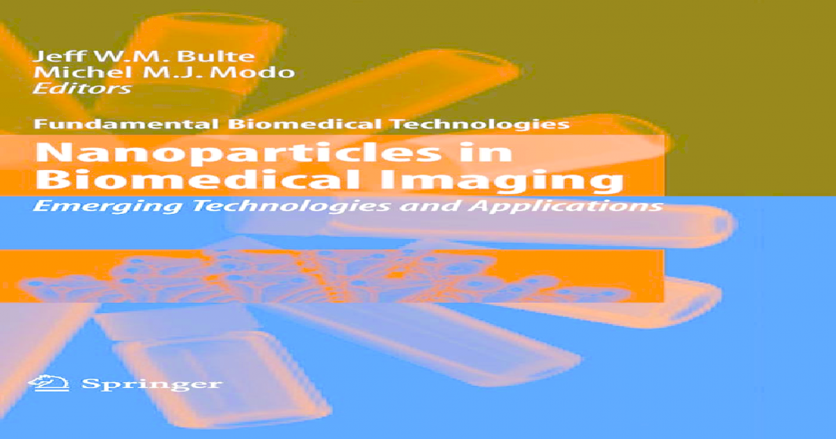 Nanoparticles in Biomedical Imaging: Emerging Technologies