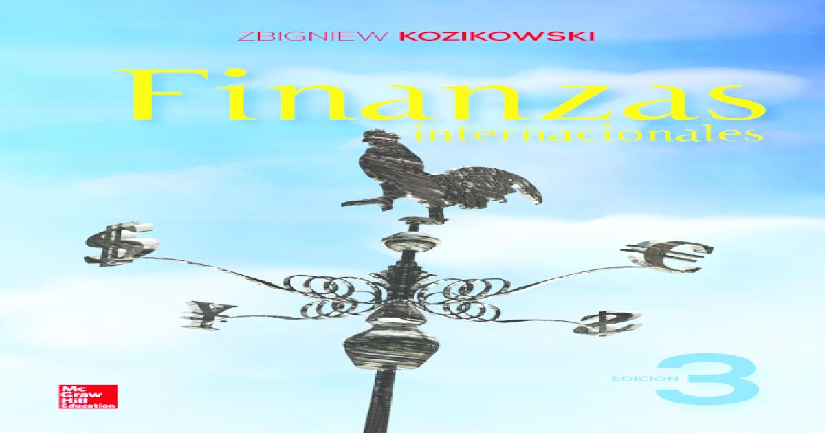 Libro De Finanzas Internacionales De Kozikowski Download