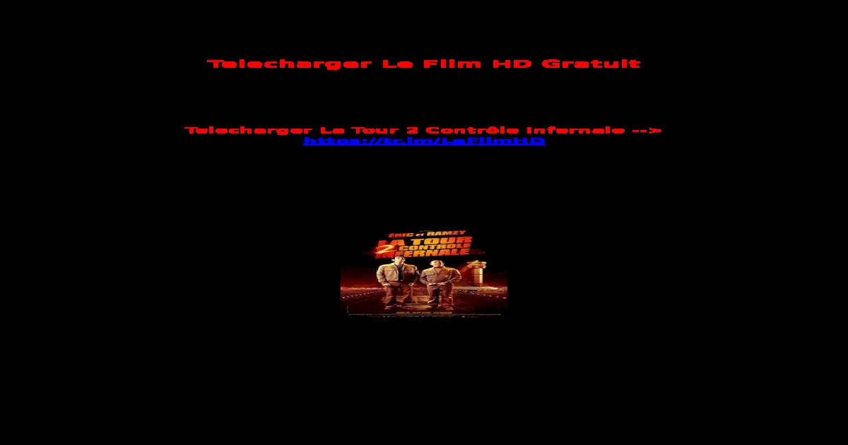 UTORRENT 2 TÉLÉCHARGER INFERNALE TOUR CONTRÔLE LA