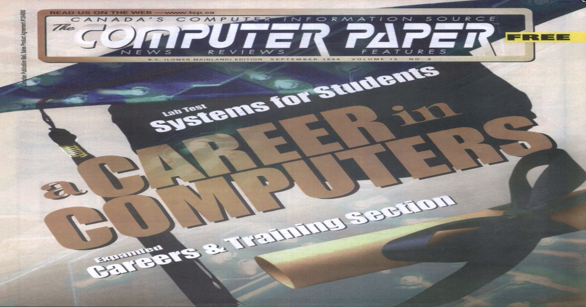 1999 09 The Computer Paper - BC Edition