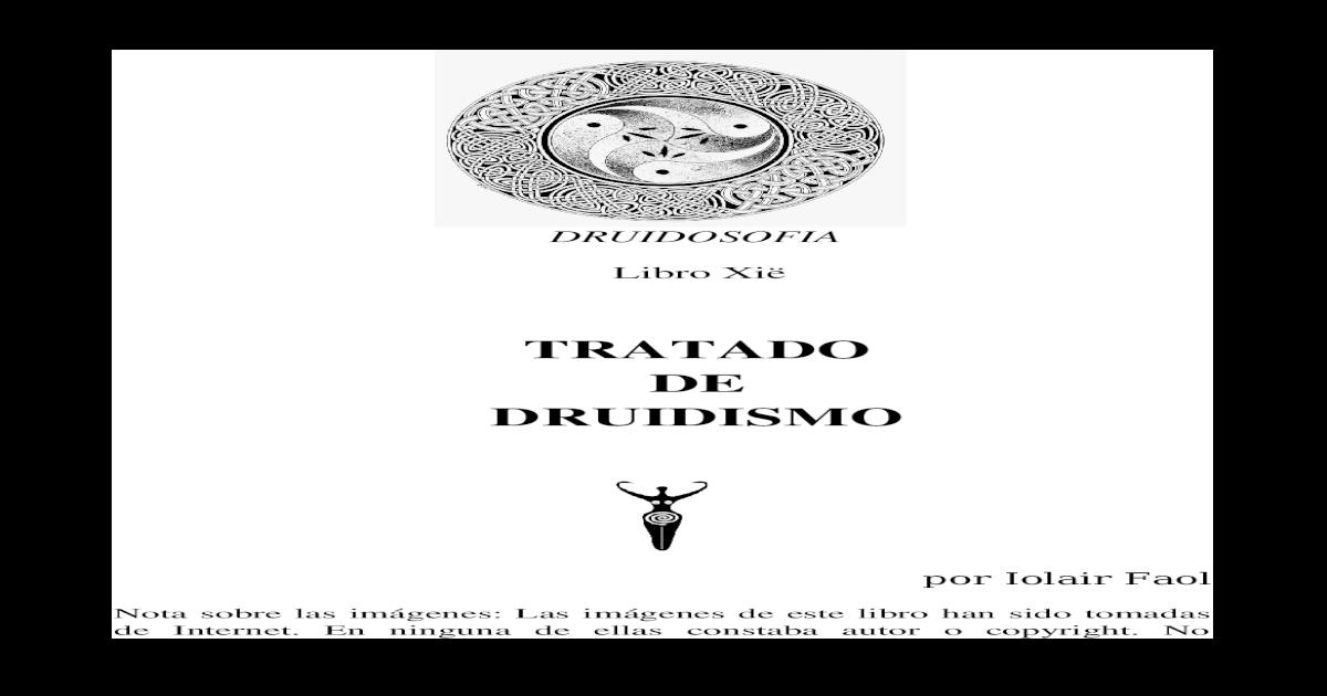Tratado Xi Xi Libro De Libro Druidismo Libro Xi De Tratado De Tratado Druidismo 54RLqA3j