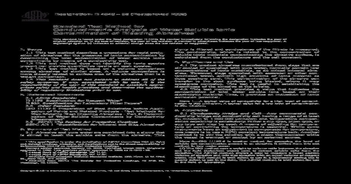 ASTM D4940 Test for abrasive pdf