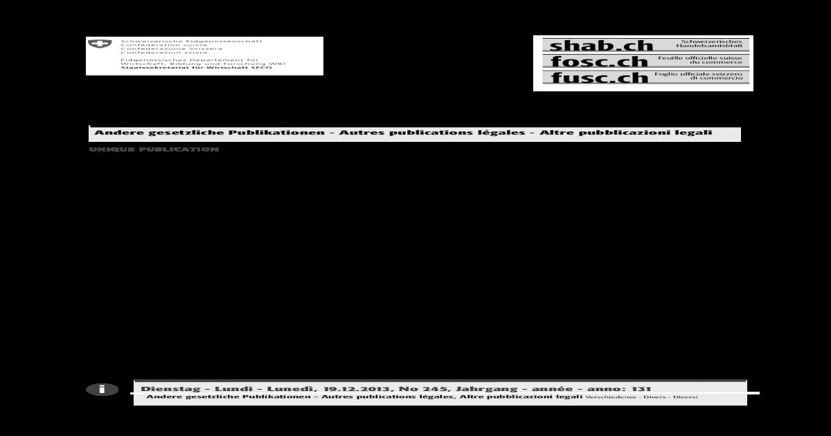 Conversion Du Numro d Identification Des Entreprises (IDE) Dans Le Registre  Du Commerce Du Canton de GE. c93ae6f8d9dc2