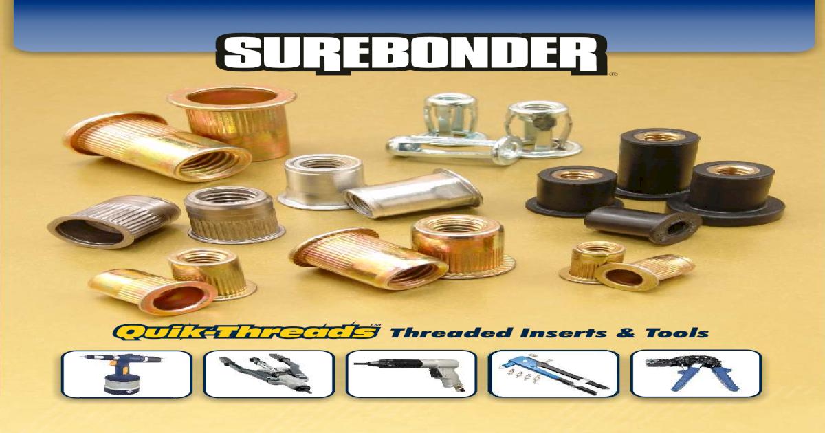 Surebonder 1024-130 Threaded Insert