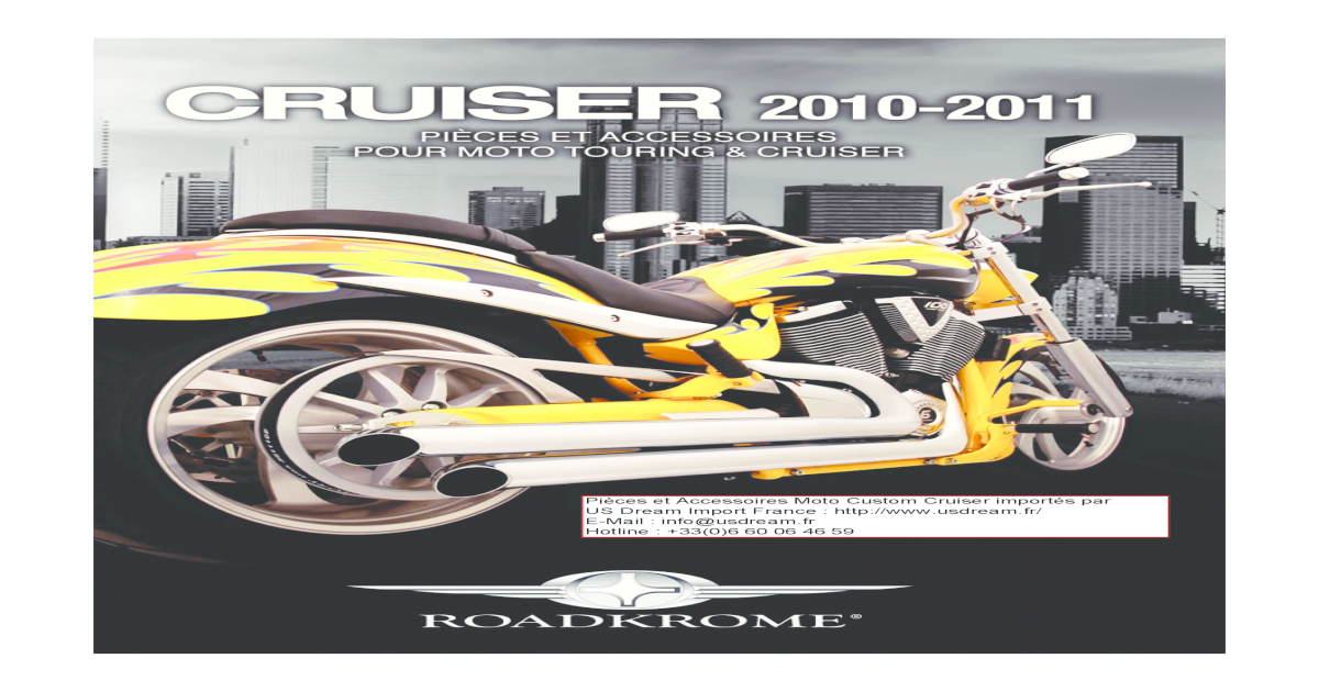 ad5f79922a1 Moto Custom Cruiser Touring GoldWing Accessoires Chrome
