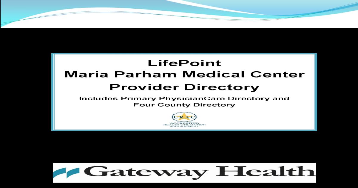 f4cea100df LifePoint - Maria Parham - Directory 1.2012 1