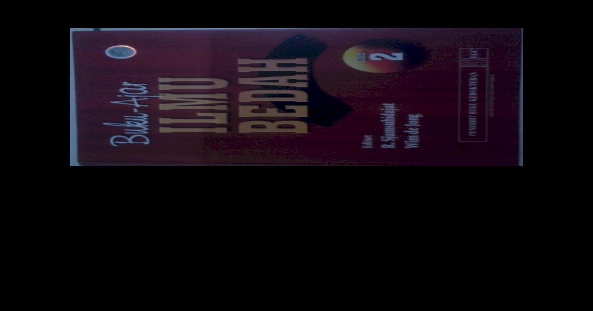 Buku Ajar Ilmu Bedah Ebook