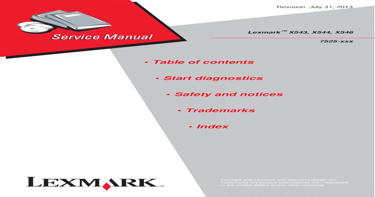 40X8092 Lexmark Scanner Duplex