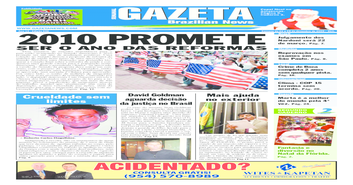 7272be197 Gazeta Brazilian News - Edio 656