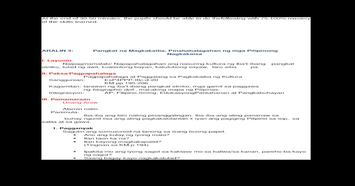 Aralin 3 Q3 EsP