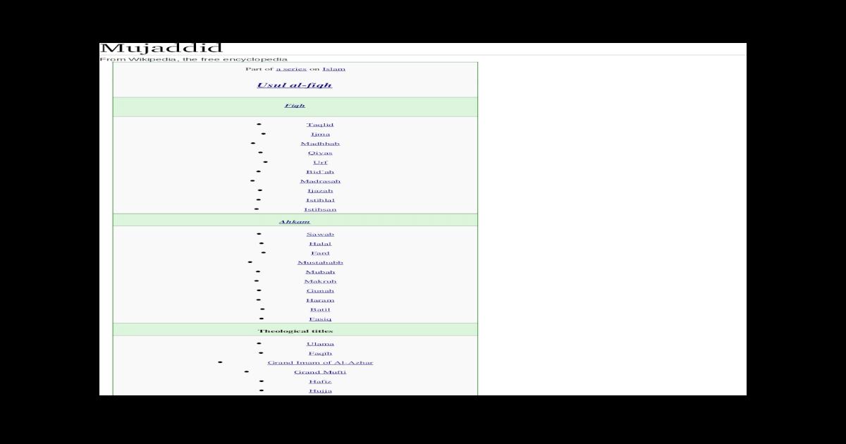 Books Of Sunni