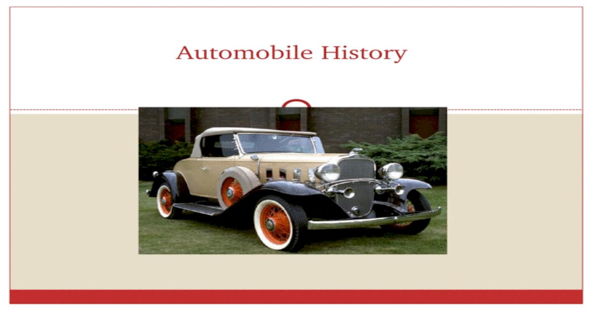 automobile definition