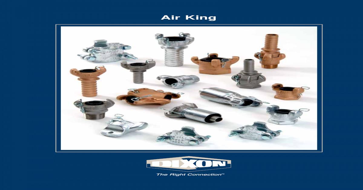 1 NPT Female Dixon Air King RAM13 Stainless Steel 316 Air Hose Fitting 2 Lug Universal Coupling
