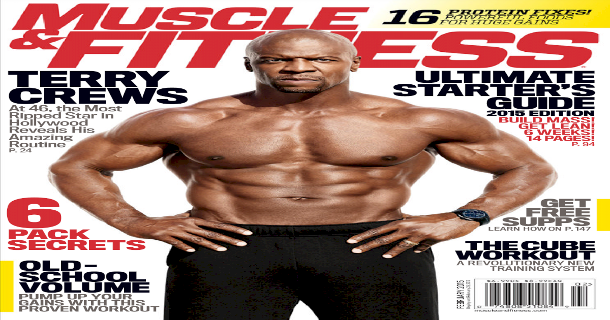 Muscle & Fitness USA-February 2015-XBOOKS
