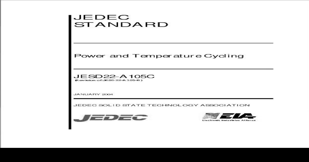 JESD22-A105C pdf