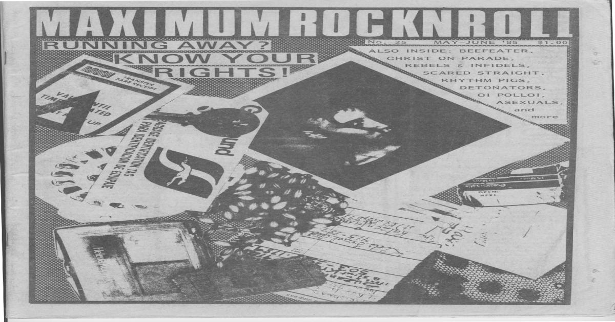 Maximum Rocknroll #25