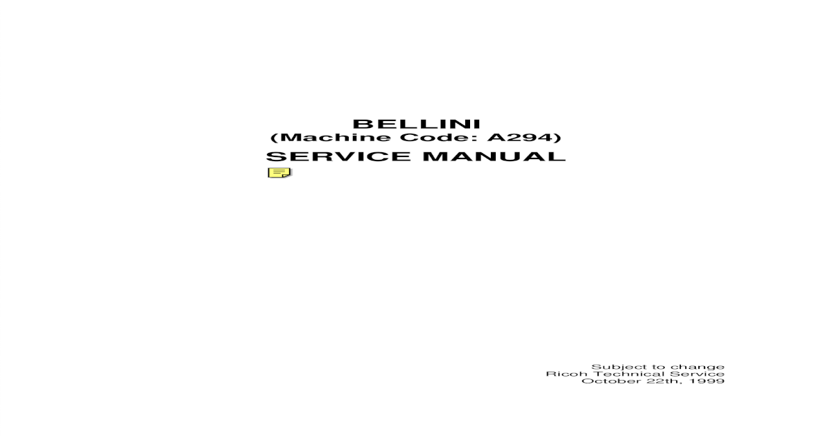 ricoh 1224c service manual pdf