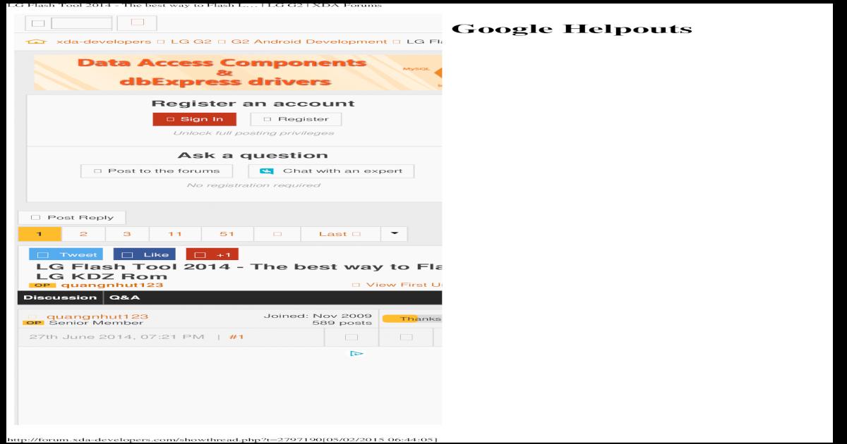 LG Flash Tool 2014 - The Best Way to Flash L _ LG G2 _ XDA Forums